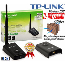 Adaptador Usb Tlwn 7200nd 150mbps Wifi Laptop Pc Tp-link