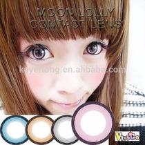 Circle Lenses- Lens Rosa Aumentam Os Olhos 18mm Cosplay