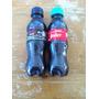Jogo De 2 Garrafas Mini Coca Cola Pet 200 Ml