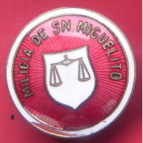 Pin Ficha Cristero Milicia San Miguel Arcangel Escasa