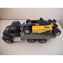 Camion Y Carro F1 Goliath M.a.s.k Mask