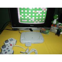 Playstation 1 Slim Destravado,com Jogos (branquinho)