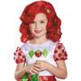 Strawberry Shortcake Peluca Niño Halloween Accesorios