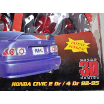 Calaveras Honda Civic 92 93 94 95 Sedan O Coupe Jdm
