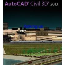 Autcad Civil 3d 2013 - 32 & 64 Bits + Curso