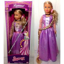Boneca Gigante Stephany Princesa Rapunzel Disney Original