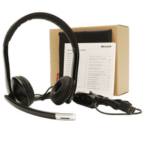 Audifonos Microsoft Usb Lifechat Lx-6000 Call Center Oficina