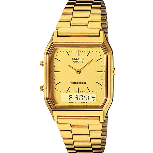 ccb4f3f119c Relógio Casio Feminino Vintage Aq-230ga-9dmq - R  399