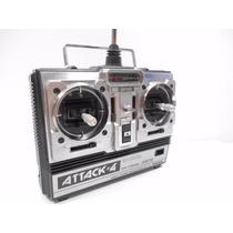 Radiocontrol Futaba Fp-t4nbl Attack 4 Canales 72 Mhz