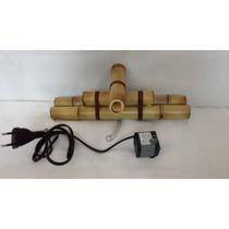 Kit Bica De Bambu 1 Queda + 1 Bombinha Para Montar A Fonte