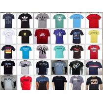 Kit 10 Camisetas Gola Redonda R$ 8,00 Cada Revenda E Lucre