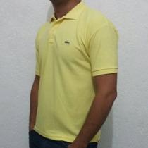 Camisa Gola Polo (camiseta) Kit C/5 Lacoste Sem Juros