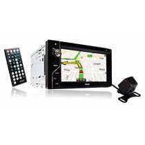 Pantalla 2 Din Gps Bluetooth Usb Msd + Camara De Reversa