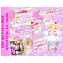 Kit Imprimible Baby Shower Niña Comunión Bautizo Angelita 4