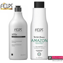 Felps Amazon Liss Express Sem Formol Liso Natural 2x1000ml