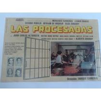 Afiche De La Película Las Pocesadas Año 1975.