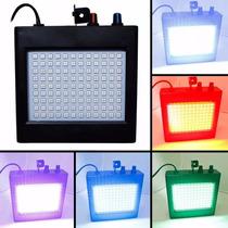 Strobo 108 Leds Coloridos Iluminação Led Room Para Festas