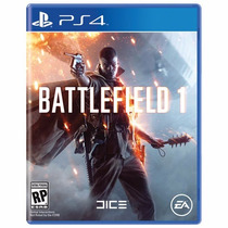 Battlefield 1 Midia Física Português Br (pré Venda) - Ps4