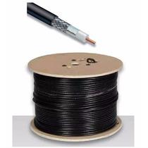 Cable Coaxial Rg6 Por Metros 100% Malla 70% Cobre Excelente!