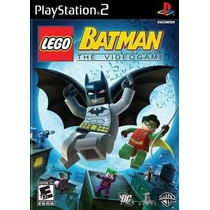 Lego Batman The Video Game Ps2 Patch Frete Unico