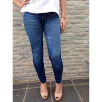 Solo Al Mayor!!bellos Leggins Tipo Jeans