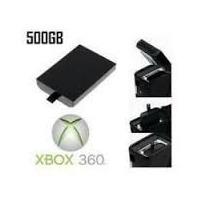 Hd Xbox 360 Slim 500gb Exclusivo Lançamento Pronta Entrega
