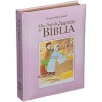 Meu Livro De Histórias Da Bíblia Crianças Bebês Capa Rosa