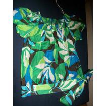 Blusa De Dama Zara Estampada Talle S