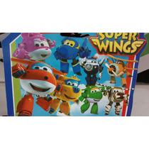 Super Wings Aviões 8 Unidades