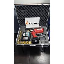 Ponchadora Electro-hidraulica Para Cable Calibre 6 A 600 Mc