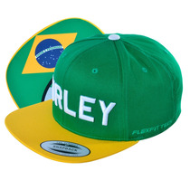 Boné Masculino Hurley Snapback Verde
