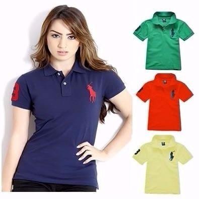 3d76e682f1 Kit 30 Camisas Polo Feminina Atacado Revenda - Frete Gratis - R  585 ...