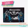 Batman - Cartel Bienvenidos Para Imprimir