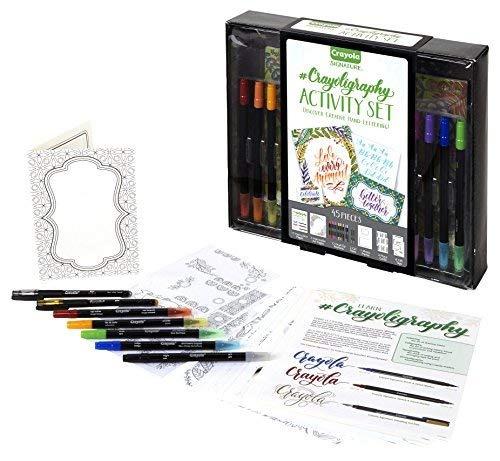 Crayola Signature Crayoligraphy Juego De Arte De Caligrafía ...