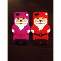Funda Iphone Se, 5 5s, 5c Santa Claus A Un Super Precio!!