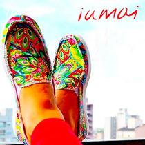 Zapatillas De Mujer Panchas Iumai - Diseños Exclusivos.