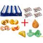 Kit Formas Modeladora De Coxinhas Bolinha - Faz 52 Salgados