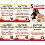 Factor Quema Grasa. 10 Archivos. Dietas. Ejercicios.