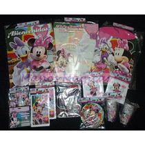 Minnie Disney Combo Cotillon 20 Chicos Infantil