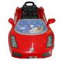 Carro Montable Para Niños Con Control Remoto Color Amarillo
