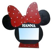 Portaretrato 10x15 Souvenirs Minnie, Mickey Con Nombre