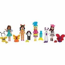 Polly Pocket - Festa A Fantasia Bichinhos E Princesas Mattel