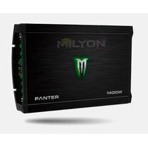Potencia Monster 1400w Linea Panter X-350.4 4 Canales