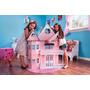 Casa Barbie Casinha De Bonecas Palácio Barbie Emily Princesa