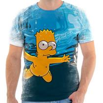 Camiseta Os Simpsons - Bart Money