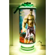 Hulk Recuerdos Centros De Mesa Lamparas Personalizadas Aveng