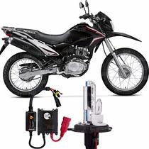 Kit Xenon Moto Honda Bros Nxr 150 Lampada 8000k Encaixe H4-2