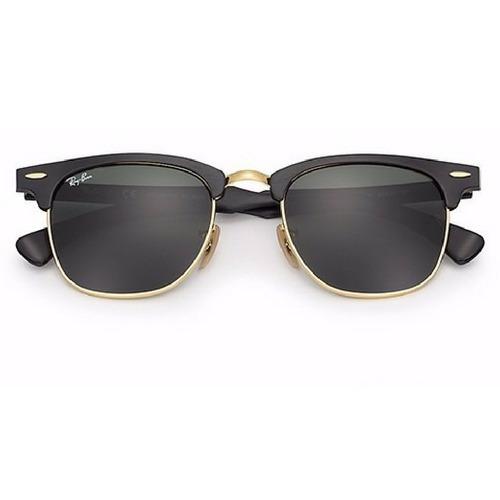 Rayban Clubmaster Aluminium Rb3507 Oculos De Sol + Brinde - R  249,78 em  Mercado Livre 431265c271