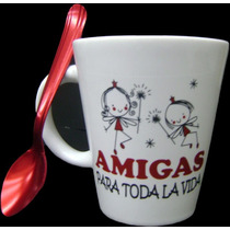 Tazas Y Mates Día Del Amigo Aptas Microondas Y Lavavajillas