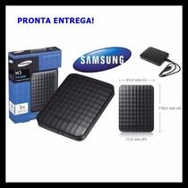 Hd Externo Samsung 1tb Usb 3.0 M3 10x Mais Rápido